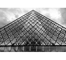 The Glass Pyramid Photographic Print