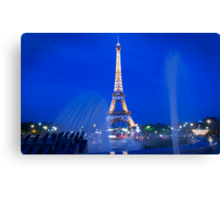 Eiffel Sparkle Canvas Print