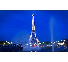 Eiffel Sparkle Photographic Print
