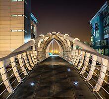 Pier Head Bridge Liverpool by Paul Madden