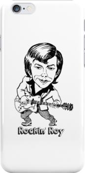 ROY LONEY FLAMIN' GROOVIES COOL IPHONE CASE by westox