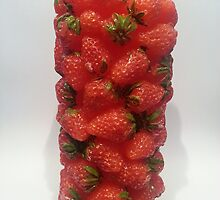 Strawberry Candle Tower by GaryWood