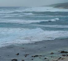 stormy seas by metriognome