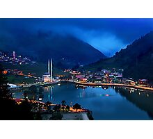 Blue hour in Uzungol Photographic Print