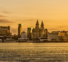 Sunrise Over Liverpool by Paul Madden