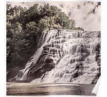 Waterfall in all its beauty Poster