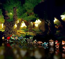 Donkey Kong Country pixel art by smurfted