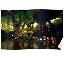 Donkey Kong Country pixel art Poster