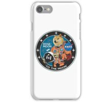 To the moon wow! iPhone Case/Skin