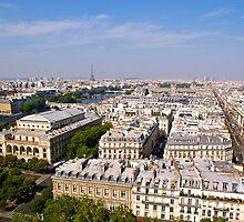 Paris de la Tour Saint-Jacques by Alex Cassels