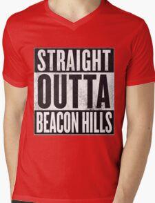 Straight Outta Beacon Hills Mens V-Neck T-Shirt