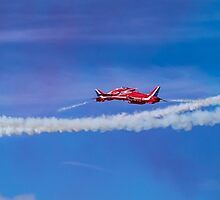 Red Arrows Fly Past by Paul Madden