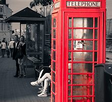 Phonebox at Eastbourne by Paul Stevens