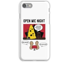Open Mic Night iPhone Case/Skin