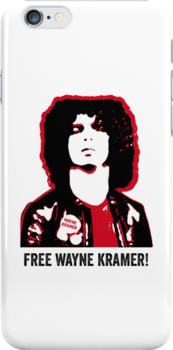 WAYNE KRAMER MC5 COOL IPHONE CASE by westox