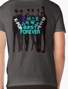 ♥♫I Love B2ST Forever Splendiferous K-Pop Clothes & Stickers♪♥ Mens V-Neck T-Shirt