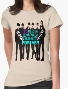 ♥♫I Love B2ST Forever Splendiferous K-Pop Clothes & Stickers♪♥ Womens Fitted T-Shirt