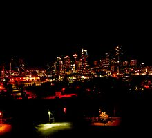Calgary, Alberta, Night Photograph by Laurast