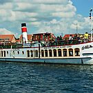 "Excursion boat ""Europa""at Waren Müritz, Mecklenburg, Germany. by David A. L. Davies"