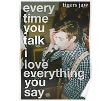 Tigers Jaw lyrics #3 Poster