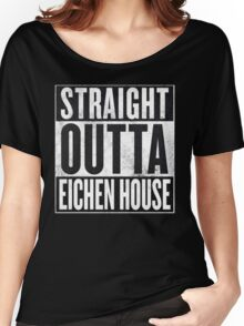 Straight Outta Eichen House Women's Relaxed Fit T-Shirt