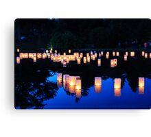 Spring Grove Lantern Lighting Ceremony Canvas Print