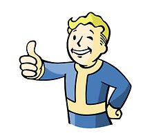 Fallout 4 - Vault Boy by Giullare