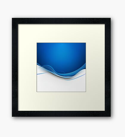 Abstract Modern Background Framed Print