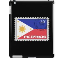 Philippines Stamp iPad Case/Skin