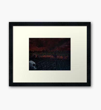 Beyond the Fall Framed Print