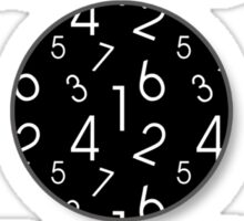 Nr 1 Rule Of Math Sticker