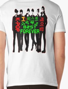 ♥♫I Love B2ST Forever Splendiferous K-Pop Clothes & Stickers♪♥ Mens V-Neck T-Shirt