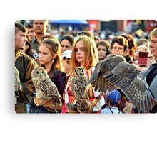 Owl Tamers Canvas Print