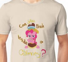 Chimney-Thinking Pinkie Pie Unisex T-Shirt