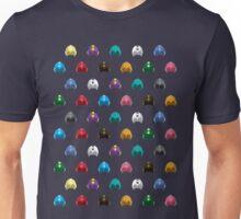 Cool Colorful Megaman Helmet Pattern Unisex T-Shirt