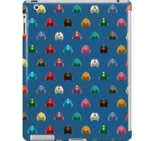 Cool Colorful Megaman Helmet Pattern iPad Case/Skin