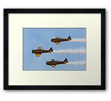 Harvard Trainers Framed Print