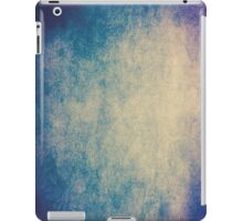 Abstract iPad Case Cool New Grunge Texture BLUE SKY iPad Case/Skin