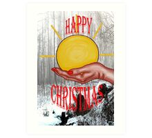 HAPPY CHRISTMAS 46 Art Print