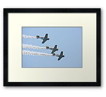 Harvard Trainers 2 Framed Print
