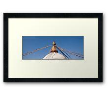 Great Stupa Framed Print