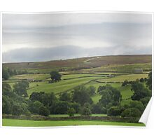 The Dales Of Yorkshire Poster
