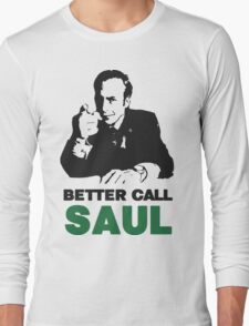 Better Call Saul (Red) Long Sleeve T-Shirt
