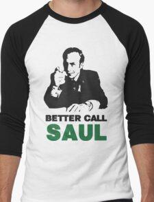Better Call Saul (Red) Men's Baseball ¾ T-Shirt
