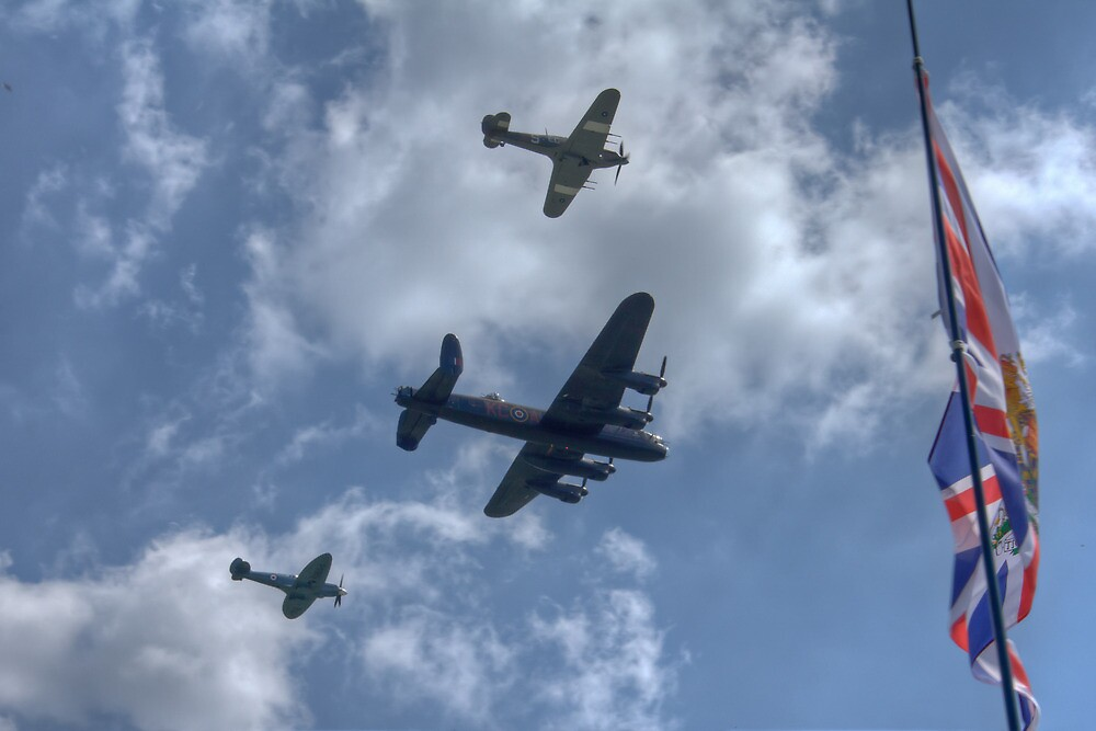 Battle of Britain Memorial Flight by Wendy Williams