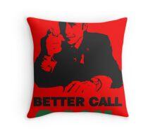 Better Call Saul (Red) Throw Pillow