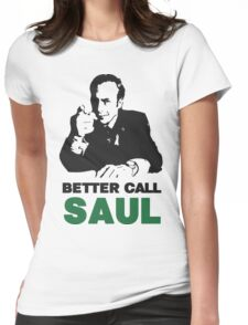 Better Call Saul (Red/Yellow) Womens Fitted T-Shirt