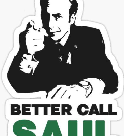 Better Call Saul (Red/Yellow) Sticker