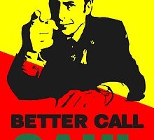 Better Call Saul (Red/Yellow) by miki1510