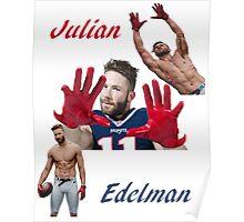 Julian Edelman Poster